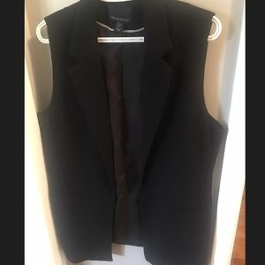 CYNTHIA ROWLEY black vest